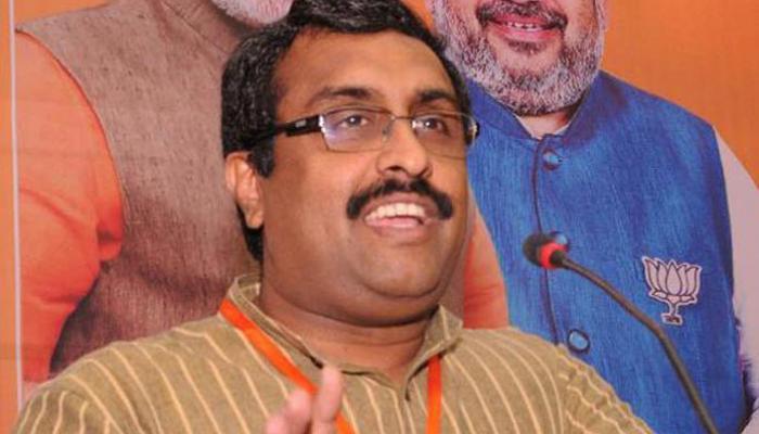 बीजेपी नेता राम माधव बोले- पैसे के लिए लाइन में लगना देशभक्ति का इम्तिहान
