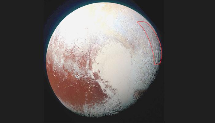 प्लूटो के बर्फीली सतह में छिपा हो सकता है विशाल सागर