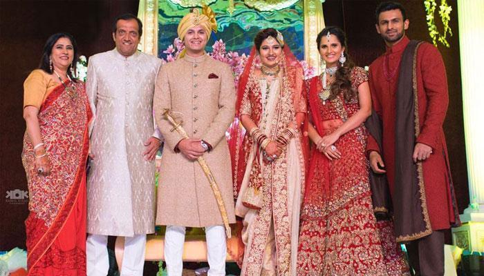 सानिया मिर्जा की बहन अनम मिर्जा की शादी में पहुंचे कई नामचीन हस्ती- भव्य समारोह की देखें तस्वीर