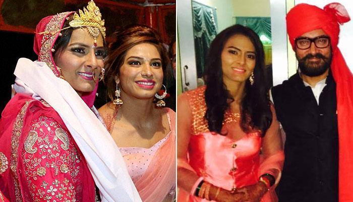 रेसलर गीता फोगट की शादी: वेडिंग में शामिल हुए आमिर खान, साक्षी मलिक