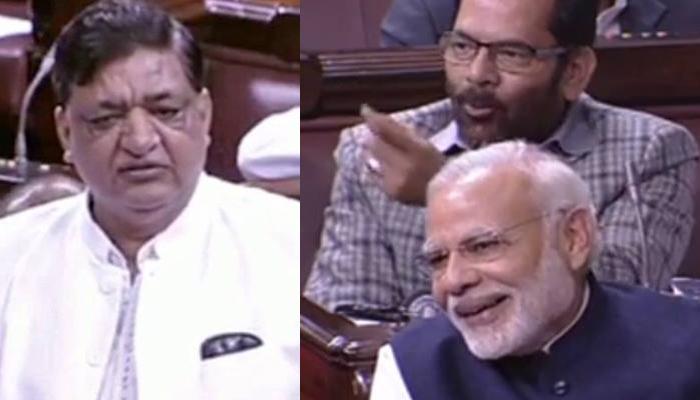 राज्यसभा में बहस के दौरान इस Punchline पर PM मोदी भी नहीं रोक पाए अपनी हंसी