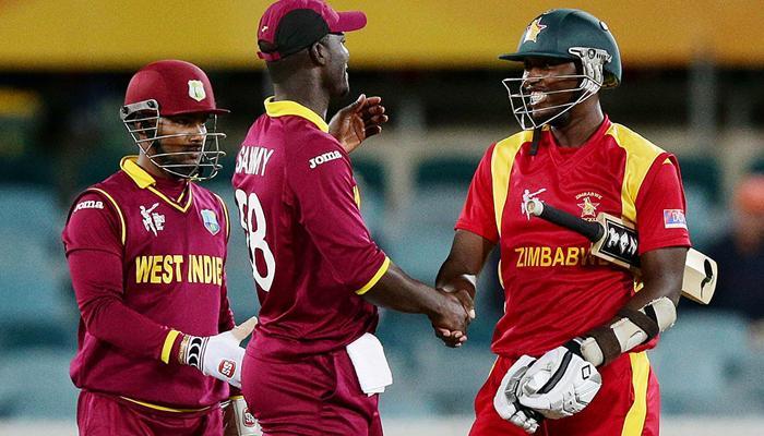 वनडे ट्राई सीरीज: वेस्टइंडीज को 5 रन से हराकर जिंबाब्वे फाइनल में