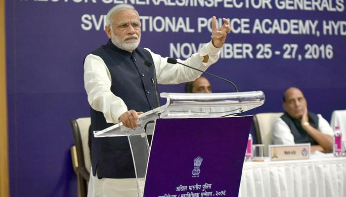 प्रधानमंत्री मोदी ने पुलिस में गुणात्मक बदलाव का आह्वान किया