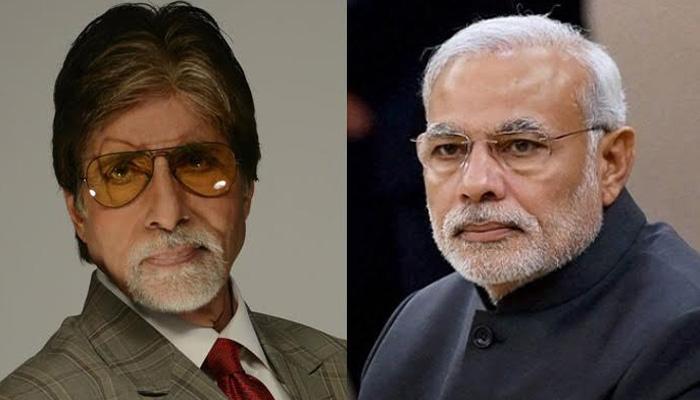 स्वच्छ भारत में अपने योगदान को सराहने के लिए अमिताभ ने PM मोदी को कहा शुक्रिया