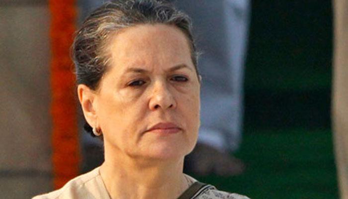 कांग्रेस अध्यक्ष सोनिया गांधी अस्पताल में भर्ती