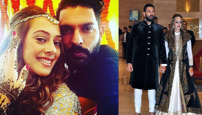 हेजल कीच के साथ युवराज सिंह की रिंग सेरमनी और अन्य तस्वीरें...