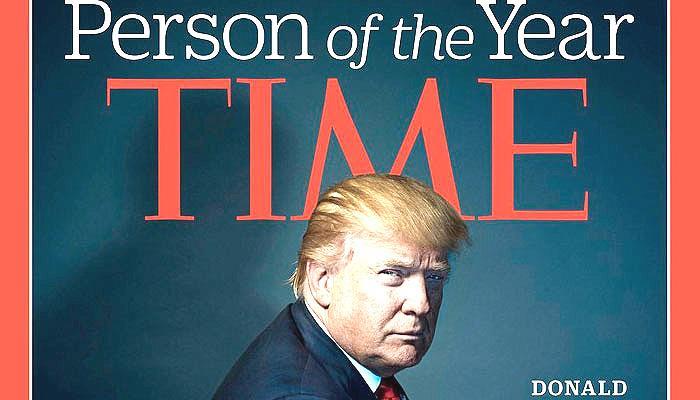 अमेरिका के निर्वाचित राष्ट्रपति डोनाल्ड ट्रंप बने 'टाइम पर्सन ऑफ द ईयर'