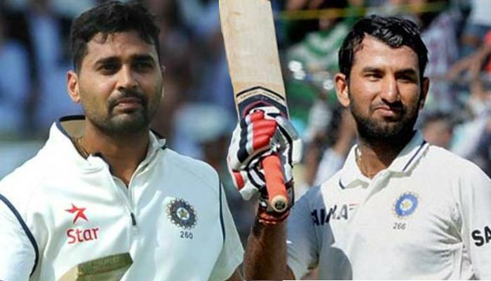 मुंबई टेस्ट : इंग्लैंड के 400 रन के जवाब में मुरली और पुजारा ने टीम इंडिया को दी मजबूती