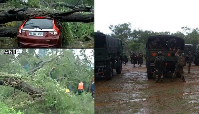 'वरदा' तूफान की वजह से चेन्नई और तमिलनाडु में भारी बारिश; 4 लोगों की मौत, राहत एवं बचाव कार्य में जुटी सेना
