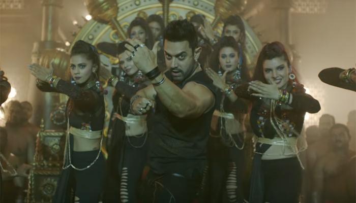 फिल्म 'दंगल' के सॉन्ग 'धाकड़' का नया वर्जन रिलीज, रैपर के अंदाज में नजर आए आमिर खान