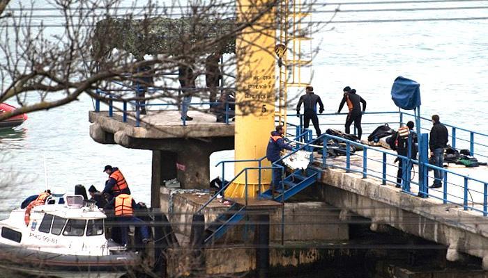 दुर्घटनाग्रस्त रूसी विमान टीयू-154 का मलबा काले सागर में मिला