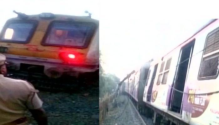 मुंबई के ठाणे में कुर्ला-अंबरनाथ लोकल ट्रेन के पांच डिब्बे पटरी से उतरे, कोई हताहत नहीं