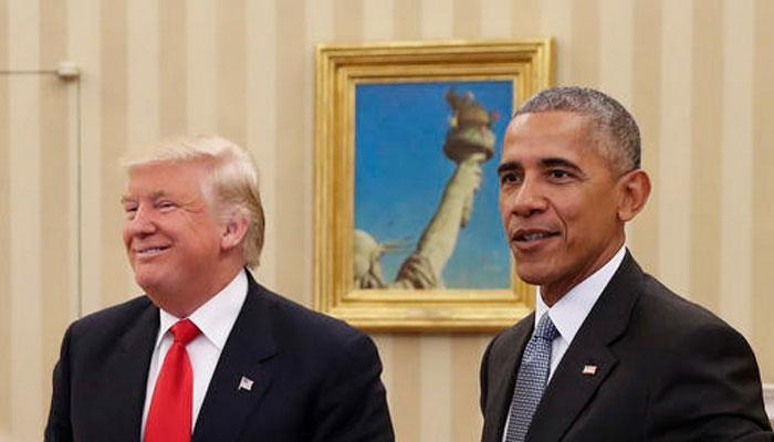 डोनाल्ड ट्रंप ने कहा- सत्ता हस्तांतरण में अड़ंगा लगा रहे हैं बराक ओबामा