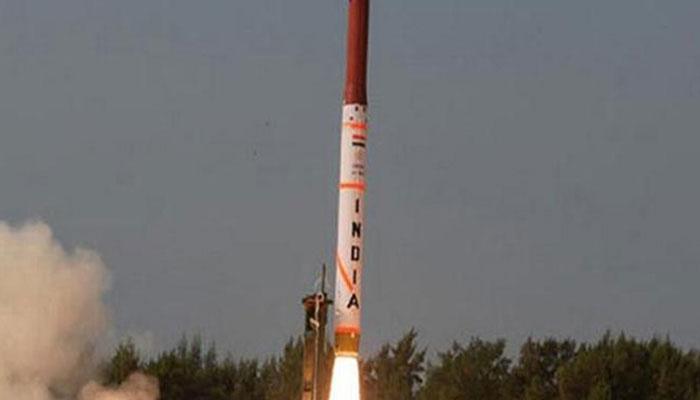 एटमी हथियार ले जाने में सक्षम अग्नि-4 मिसाइल का टेस्ट कामयाब , 4000 किलोमीटर की है मारक क्षमता