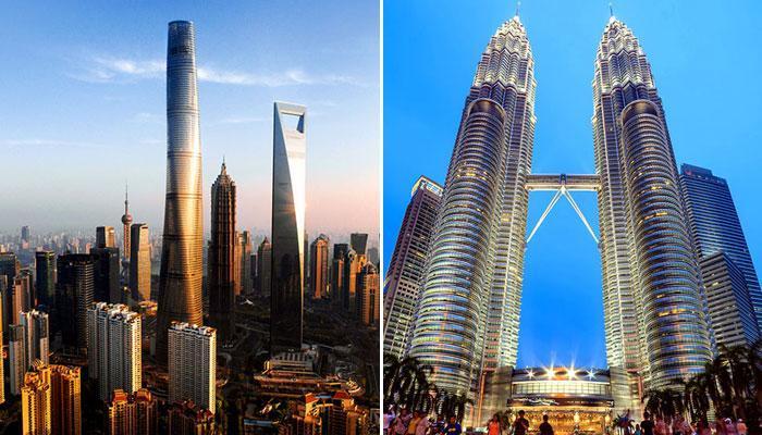दुनिया की टॉप 10 सबसे ऊंची बिल्डिंग