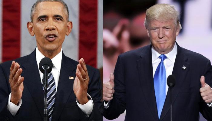 डोनाल्ड ट्रंप को बराक ओबामा ने सराहा- बोले- 'कई मायनों में हम दोनों एक-दूसरे से अलग'