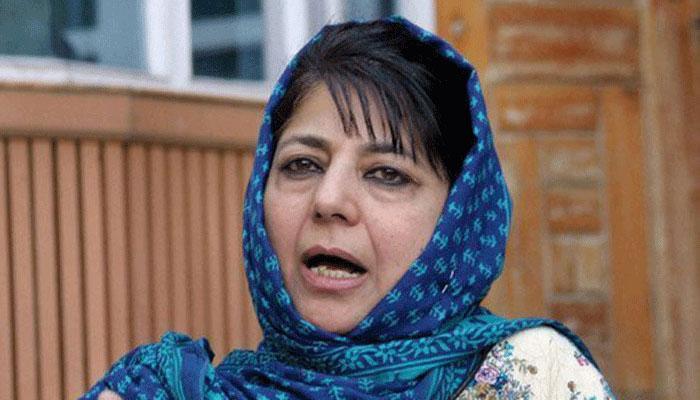 पाकिस्तान, अलगाववादियों ने शांति प्रकिया में बाधा डाली: महबूबा