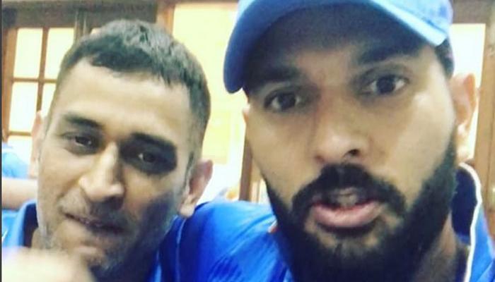 युवराज सिंह और धोनी के बीच अनोखी 'क्रिकेट केमिस्ट्री', एक-दूसरे को जमकर सराहा- देखें ये Video