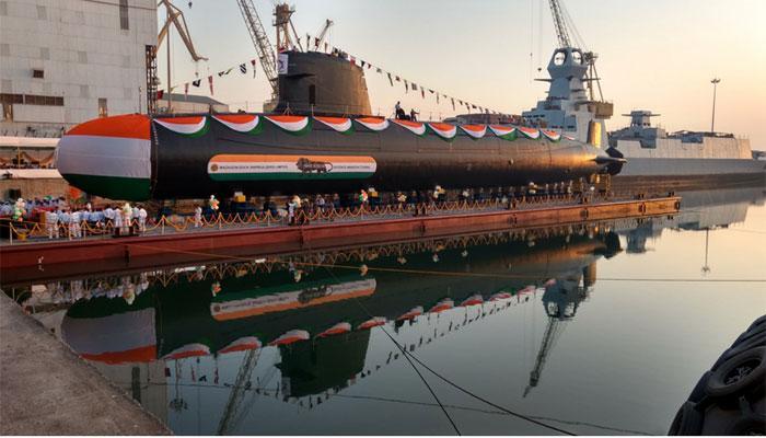 भारतीय नौसेना में शामिल हुआ सबमरीन 'खांदेरी', कई गुना बढ़ेगी भारत की ताकत