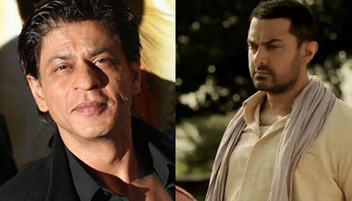 शाहरुख ने आमिर खान से किया फिल्म 'दंगल' देखने का वादा