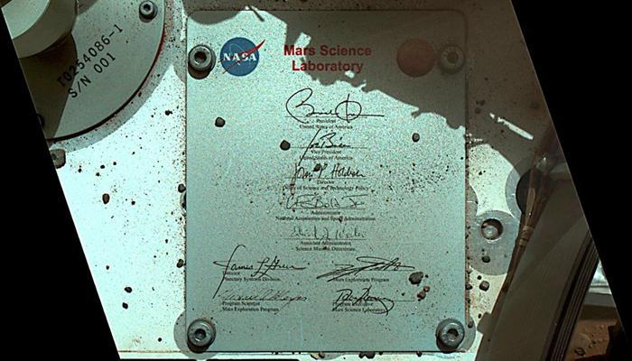 मंगल पर पहुंचा ओबामा का हस्ताक्षर, नासा को कहा- शुक्रिया
