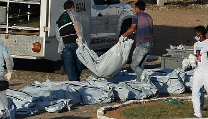 ब्राजील की जेल में खूनी संघर्ष में 26 की मौत, काटे कैदियों के सिर