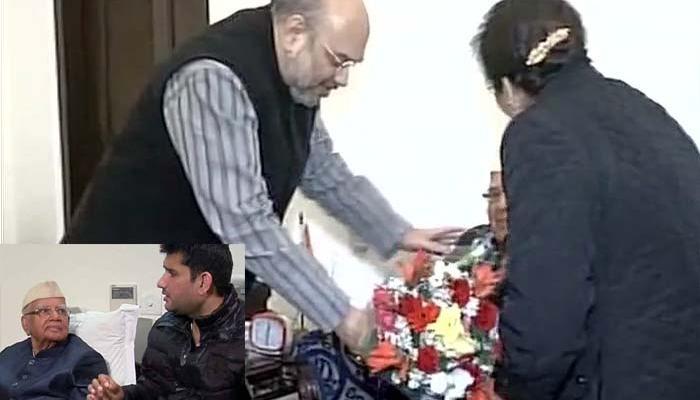 उत्तराखंड में कांग्रेस को एक और झटका, बेटा रोहित के साथ भाजपा के हुए एनडी तिवारी