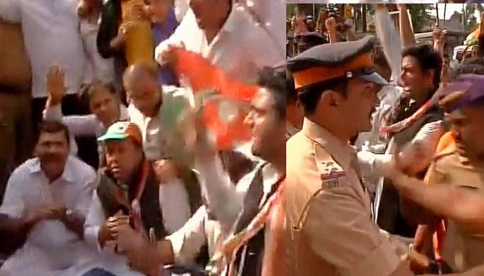 नोटबंदी के खिलाफ देश भर में कांग्रेस का विरोध-प्रदर्शन, RBI कार्यालयों का किया घेराव