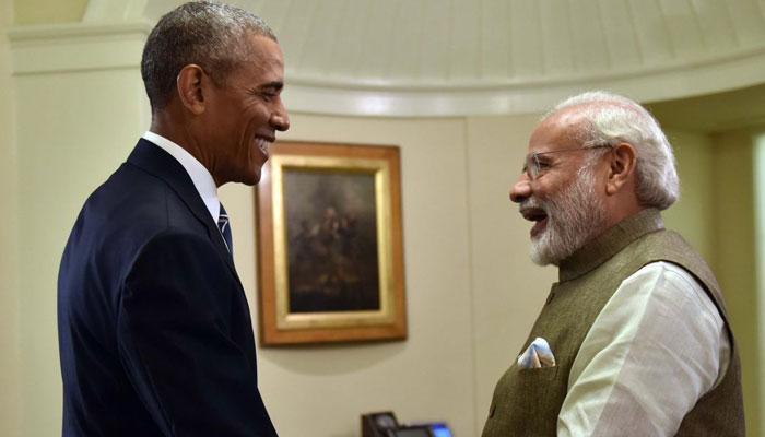 भारत-अमेरिका संबंधों को मजबूत करने के लिए ओबामा ने PM मोदी को फोन कर कहा- शुक्रिया