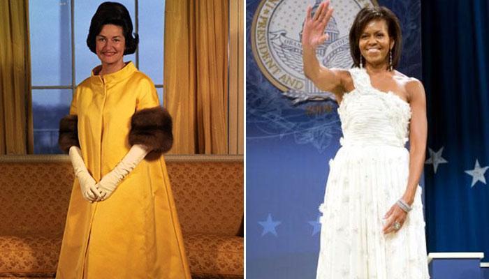 प्रथम महिलाओं की ओर से समारोहों में अब तक पहने गए आकर्षक गाउन