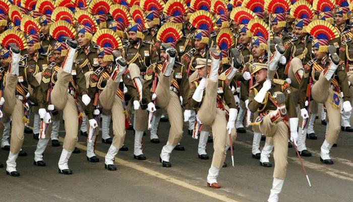 रिपब्लिक डे परेड की फुल ड्रेस रिहर्सल शुरू, राजपथ समेत पूरी दिल्ली में कड़ी सुरक्षा