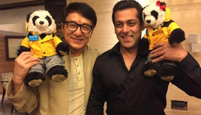 जैकी चैन ने सलमान खान से की मुलाकात, फिल्म प्रोमोशन के लिए आए हैं भारत