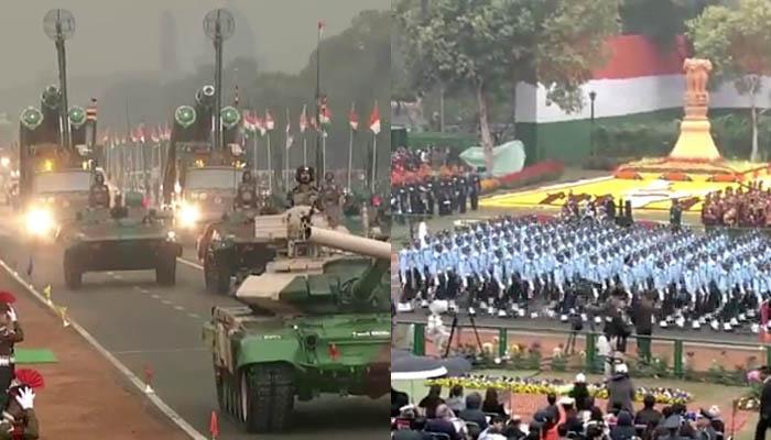 राजपथ पर रिपब्लिक-डे परेड को नहीं देख पाए, तो यहां देखें पूरा समारोह