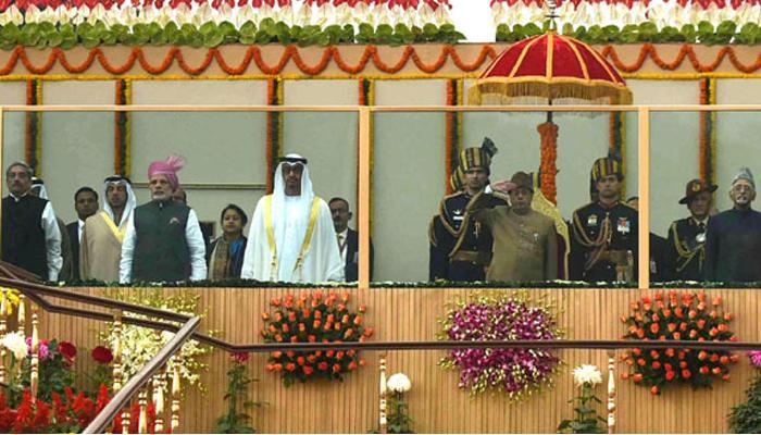 68वें गणतंत्र दिवस परेड में राजपथ पर दिखा भारत की सैन्य ताकत और समृद्ध सांस्कृतिक विरासत का जलवा