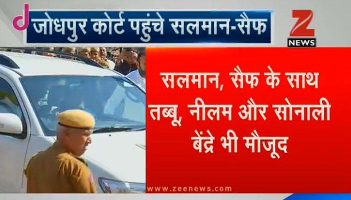 काला हिरण शिकार मामला: सलमान ने जोधपुर कोर्ट में दर्ज कराया बयान, आरोपों से किया इनकार