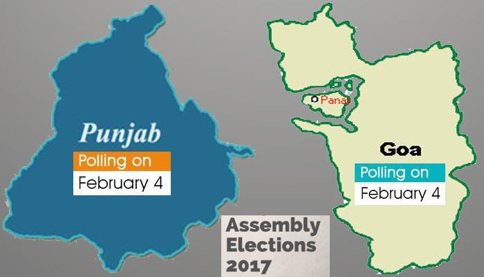 पंजाब और गोवा विधानसभा चुनाव के लिए थम गया प्रचार, मतदान 4 फरवरी को