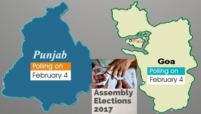 विधानसभा चुनाव 2017 : पंजाब और गोवा में मतदान आज, मतपेटियों में बद होगा दिग्गजों का भाग्य