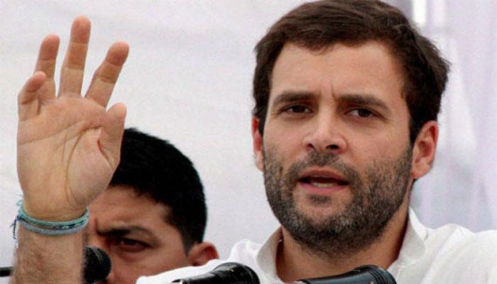 भूकंप के बयान को लेकर राहुल ने PM पर हमला किया