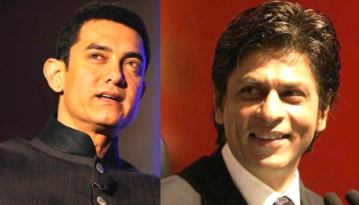 शाहरूख, आमिर ने 25 सालों में पहली बार साथ खिंचवाई फोटो