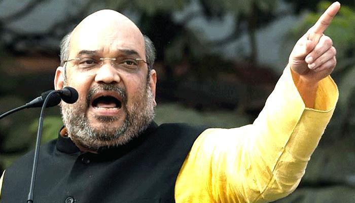 साथ मिलकर जनता को बेवकूफ बनाना चाहते हैं राहुल और अखिलेश:शाह