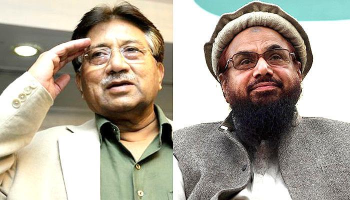 परवेज मुशर्रफ ने हाफिज सईद की रिहाई की मांग की