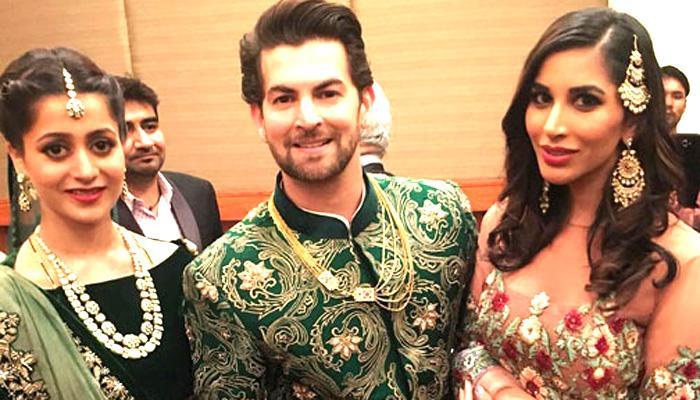 नील नितिन की शादी के प्रीतिभोज में शामिल हुए बच्चन, सलमान खान