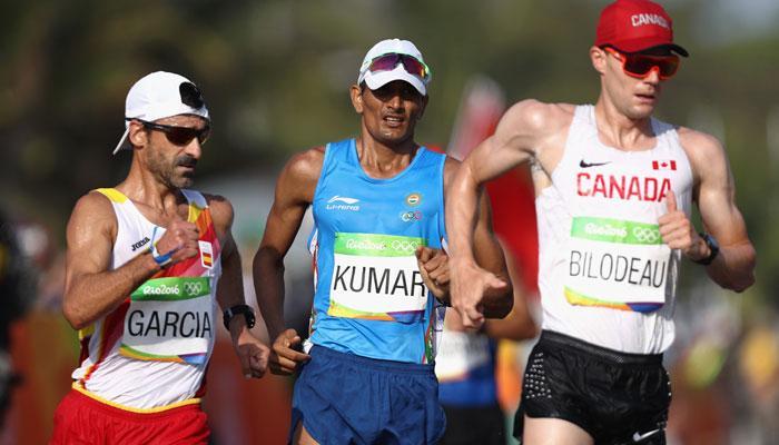 संदीप कुमार ने 50 किमी पैदल चाल में तोड़ा अपना राष्ट्रीय रिकॉर्ड