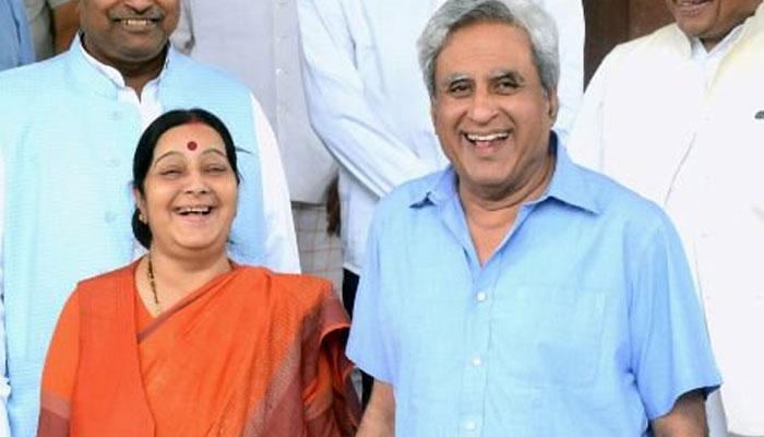 सुषमा स्वराज को ट्विटर पर फॉलो क्यों नहीं करते उनके पति स्वराज कौशल? वजह जानेंगे तो पक्का हंसेगे
