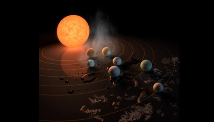 NASA ने खोजे धरती जितने बड़े सात नए ग्रह, पानी और जीवन की संभावना की उम्मीद