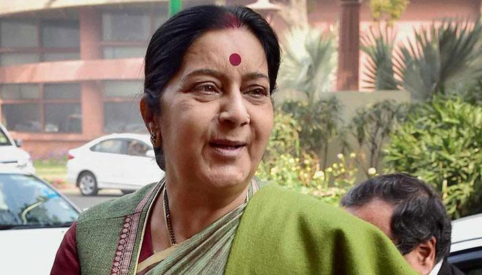 सुषमा स्वराज ने पाकिस्तानी जेल में कैद भारतीय के बारे में रिपोर्ट मांगी