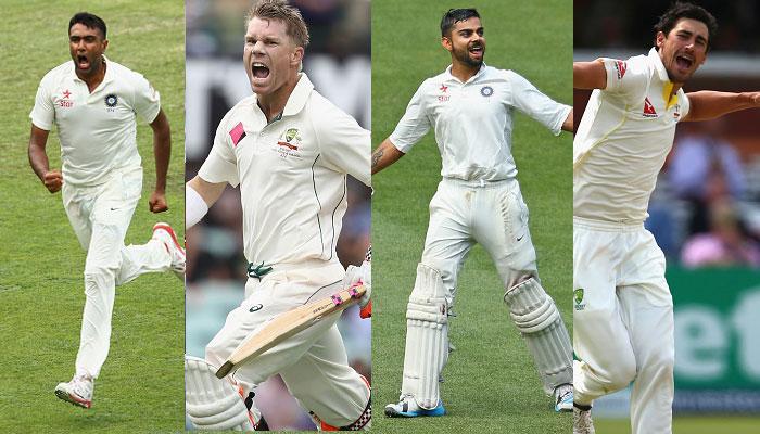 पुणे टेस्ट: पहले दिन का खेल खत्म होने तक ऑस्ट्रेलिया ने नौ विकेट खोकर 256 रन बनाए