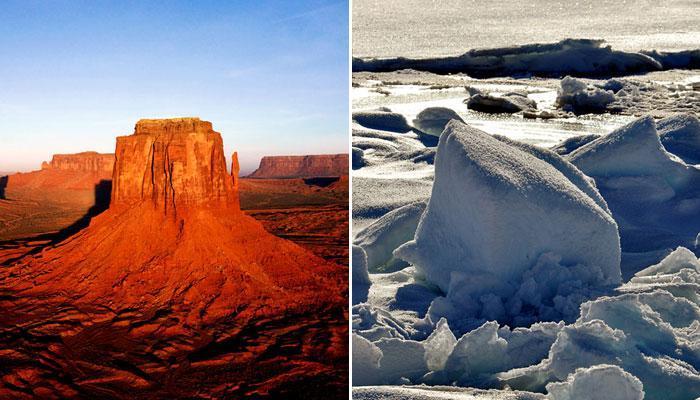 दुनिया के 10 सबसे बड़े रेगिस्तान