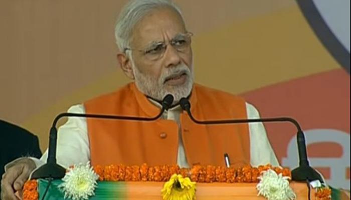 PM मोदी ने सपा और बसपा पर साधा निशाना, बोले- हार पक्की होती देख 'त्रिशंकु' विधानसभा बनाना चाहते हैं दोनों दल