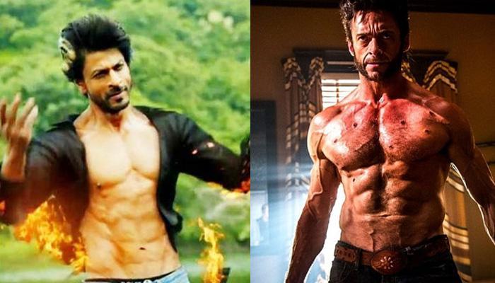 शाहरुख ने बताया 'वोल्वरीन' बनने के लिए छाती पर बाल जरुरी